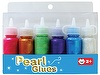 Pearl Glue Display Box Package - 10.5ml*50pcs/set, great for writing, edging, decorating gifts, cards and craft projects, 3D effect, use at home or school
