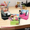 Fabric Desktop Office Stationery Organizer & Storage Box