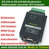 RS-232 to RS-422/485 Converter Addressable function