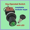 Key Type Selector Switch , LED Selector Switch