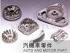 Auto and Motor Parts of Aluminum/Zinc Die Casting