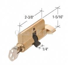 Single Cylinder European Profile with Thumbturn - (Schlage/Kwikset/Yale Keyway)