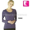 Lady stripe t shirt