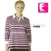 Lady stripe rugby t shirt