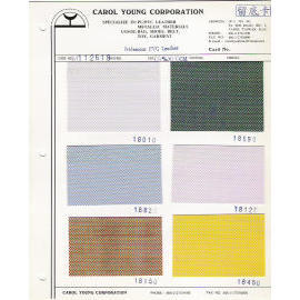 Metallic PVC Leather for bags, belt, purse and label use.