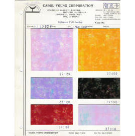 Rainbow/Iridescent  PVC sheeting/leather for Bags ,shoes decoration and label use.