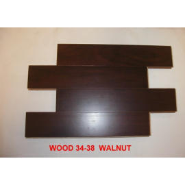 walnut laminated wooden flooring