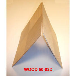 Top wooden veneer designed  wooden board with plywood back for indoor decoration use