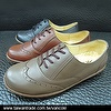 Handsewn leather casual shoes
