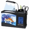 Mini fish tank ,Desktop Aquarium, Humidifier Desktop Aquarium,penhold,desk set,electronic aquarium.