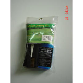 Golf club cleaning kit