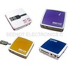 [Crystal Finish]Earphone & Mic JackUSB 80 in 1 Card Reader