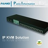 PANIO KC108P 8 Ports PS/2&USB Combo Free CAT5 IP KVM Switch- Made in Taiwan
