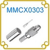 MMCX connector Male Crimp RG178U TGG