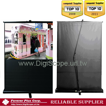 SLIDE AIR-PRESSURE FLOOR PULL UP SCREEN