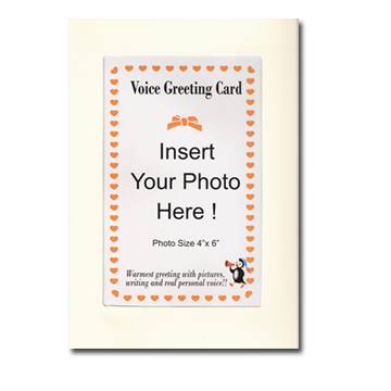 Voice recordable greeting card
