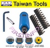 2 N.m. ~ 10 N.m. Adjustable Torque Screwdriver with Twin Display , Limited Torque Screwdriver