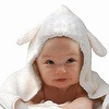 Breathable and antibacterial Baby Hood Robe