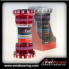 Integrated BB_Shimano compatible, MTB, Color:Red