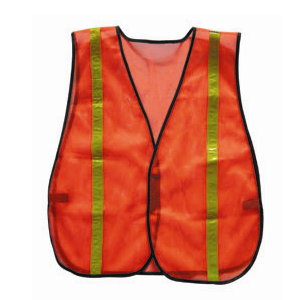 Safety Vest with Reflective PVC Strips PE-1005
