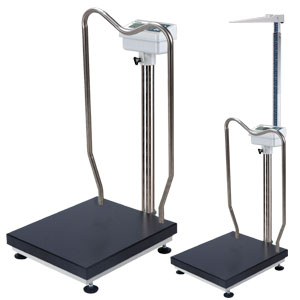 BW-1128M/BW1128MH Handrail Scale with Height Rod