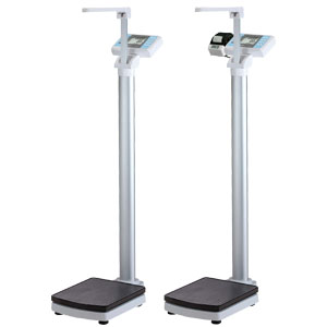 BW-2200/BW-2200P Physician Scale with Digital Height Rod