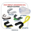 Double injection mouth guard (with high impact absorbing gel)