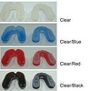 2-COLORS MOUTH GUARD (SINGLE), CE APPROVED