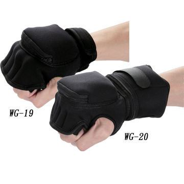 ADJUSTABLE WEIGHTED GROVES IN NEOPRENE