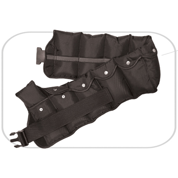 《ADJUSTABLE》Weighted belt in nylon in 10 kgs/piece