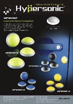 COLOURFUL PROTECTIVE BUMPERS