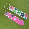 Nail file with key chain