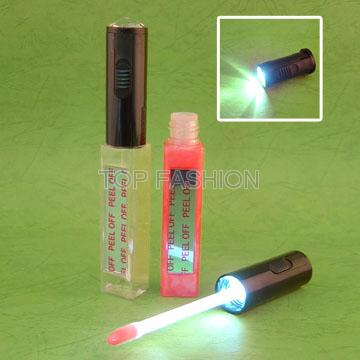 LED lip gloss with mirror Flashlight lipgloss Moisture lip care