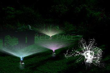LED Garden Sprinkler