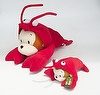 Lobster monkey plush toy