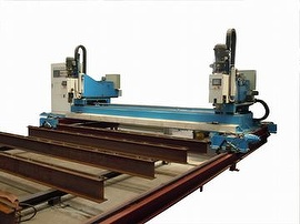 CNC Steel Bridge Drilling Machine Costs Down Production