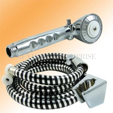 Plastic Hand Held Shower Kit – All Chrome Plating